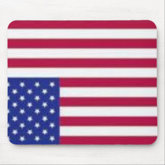 America Flag Distress Signal Mousepad