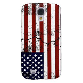 America Flag Distressed Galaxy S4 Case