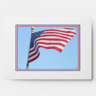 America Flag Envelopes
