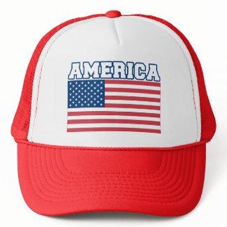 America Flag hat