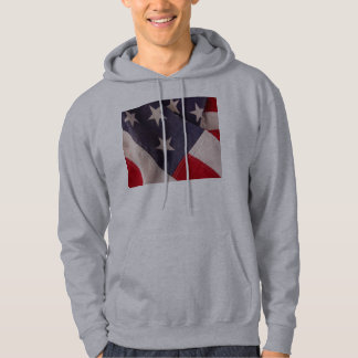 America flag hooded sweatshirt
