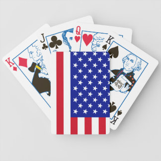 America Flag Playing Cards