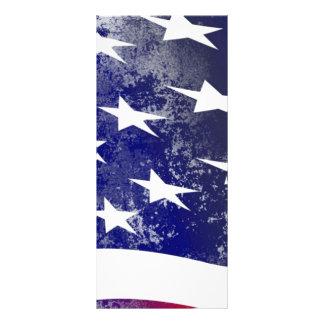 America Flag Rack Card