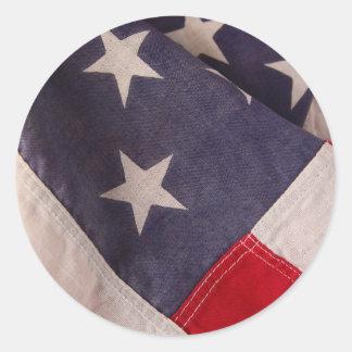 America flag small stickers