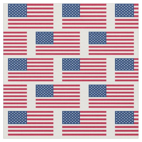 America Flag USA Banner Fabric