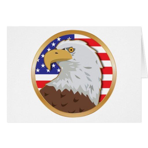 America Flat Card