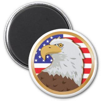 America Flat Magnet