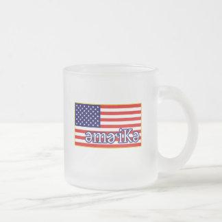 América fonética tazas de café