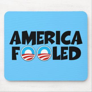 America fooled-anti Obama stuff Mouse Pad