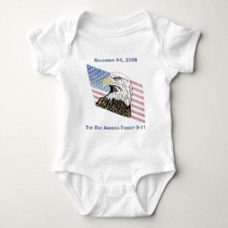America Forgot 9-11 Baby Bodysuit