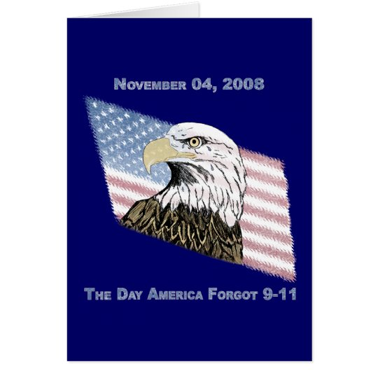 America Forgot 9-11 Card