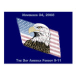 America Forgot 9-11 Postcard