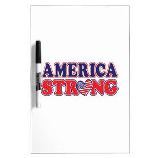 América fuerte pizarras