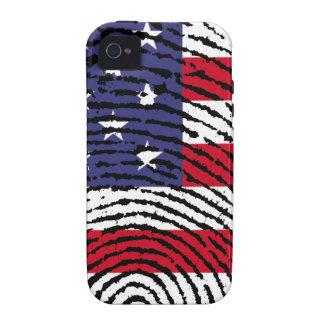 América Case-Mate iPhone 4 Fundas