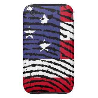 América iPhone 3 Tough Carcasas