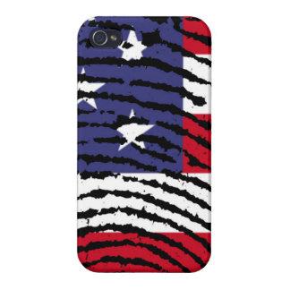 América iPhone 4 Cárcasa