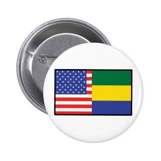 America Gabon Button