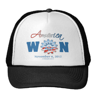 América ganó el 6 de noviembre de 2012 gorras
