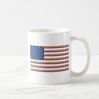 América gay tazas de café