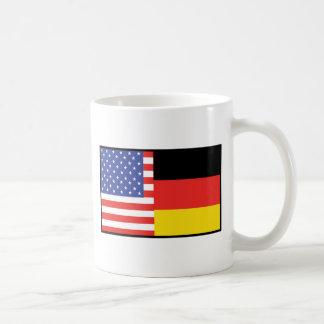 America Germany Coffee Mug