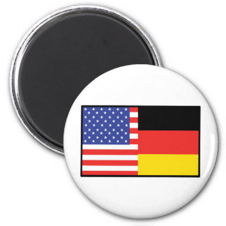 America Germany Magnet