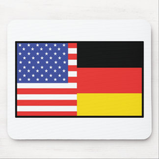 America Germany Mouse Mat