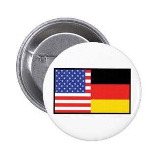 America Germany Pins