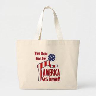 America Gets Screwed Canvas Bag
