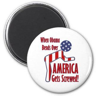 America Gets Screwed Magnet