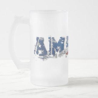 America Glass Mug