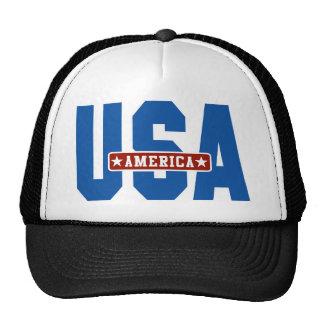 America Go USA Trucker Hats