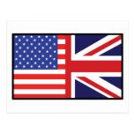 América Gran Bretaña Tarjeta Postal