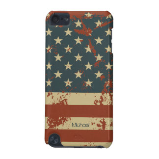 America Grunge Flag iPod Touch 5 Case