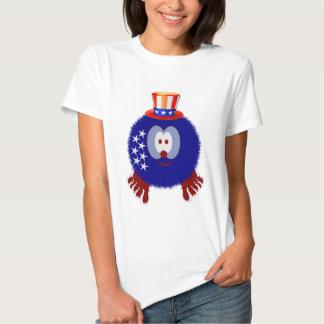 America Hat Pom Pom Pal T-shirt