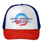 América hecha gran otra vez gorra del camionero
