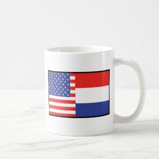 America Holland Classic White Coffee Mug