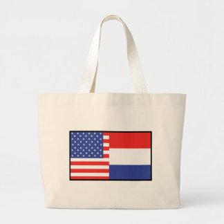 America Holland Tote Bags