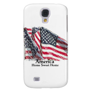 America Home Sweet Home Samsung S4 Case