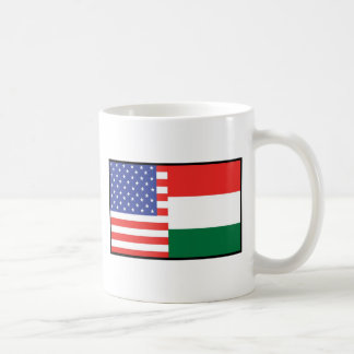 America Hungary Coffee Mug