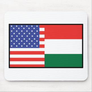 America Hungary Mouse Pad