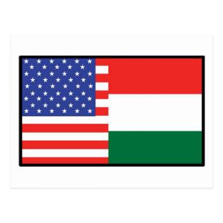 America Hungary Post Cards