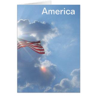 America - I am an American Greeting Card