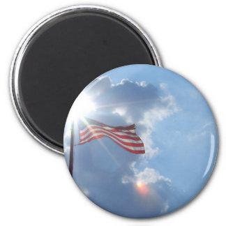America - I am an American Fridge Magnets