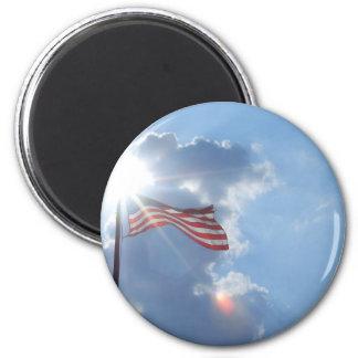 America - I am an American Magnets