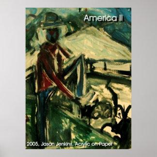 America II Print