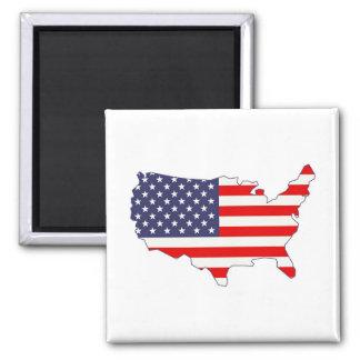 América Imán De Frigorifico