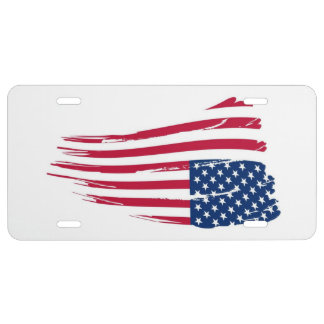 America in Distress License Plate
