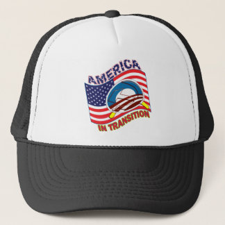 AMERICA IN TRANSITION - OBAMANIZATION - SOCIALIZE TRUCKER HAT