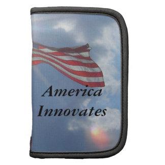 America Innovates Patriotic American Flag Planner