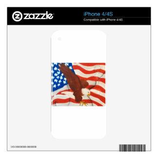 America iPhone 4S Decals